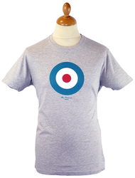 Throne BEN SHERMAN Mod Target Retro Indie Tee AM