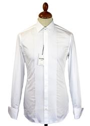 Ben Sherman Retro Front Pleated Evening Shirt (W)