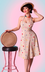Bubbles BETTIE PAGE Retro Vintage 50s Circle Dress