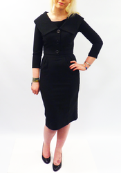 Gigi BETTIE PAGE Pleated Dress with Bolero Jacket