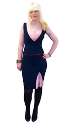 Skirt Ahoy BETTIE PAGE Retro Fifties Vintage Dress