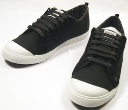 PE Wax Canvas  Cord Mens Nanny State Trainers (B)