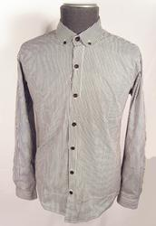'Hemmingway' -Retro Sixties Round Collar Shirt (B)
