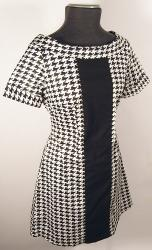 'Claudette' - Retro Sixties Mod EC STAR Dress (H)