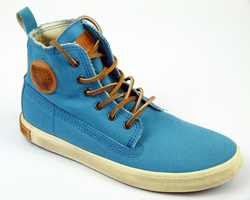 FL86 BLACKSTONE Retro Washed Canvas Sneakers (B)