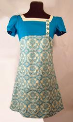 'Sweetpea' -Retro Sixties Mod Dress by EC STAR (C)