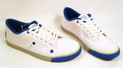 'Preppy Blue' -Retro Indie Trainers by NANNY STATE