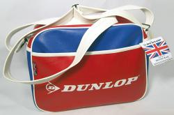 'Dunlop Made In England'  Retro Mod Flight Bag (R)