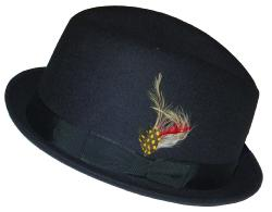 'Bluesman' - Sixties Mod Trilby Retro Hat