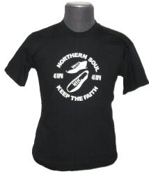 'Northern Soul 45rpm' - Retro Mod T-shirt