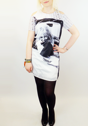 Kelly BRIGITTE BARDOT Retro Printed Shift Dress