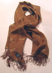 TOOTAL SCARF - Open Ground Paisley in Chocolate