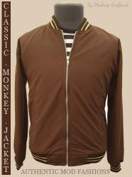 'Monkey Jacket' - Indie Mod Jacket (Brown)