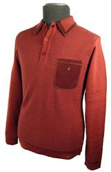 GABICCI VINTAGE LIMITED EDITION Mod Polo Knit (R)