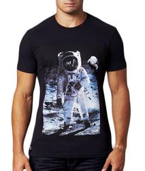 Alien Space Bomb CHUNK Retro 1960s Print T-Shirt