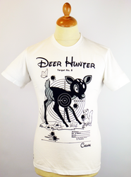 Deer Hunter CHUNK Retro 70s Indie Graphic T-Shirt