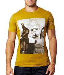 Selfie CHUNK Retro Star Wars Eiffel Tower Tee (O)