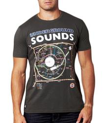 Underground Sounds CHUNK Retro Indie T-Shirt