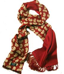 TOOTAL SCARF - Sixties Classic Paisley Pattern (R)