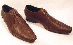 'Cowan' - Retro Mod Mens Shoes by PAOLO VANDINI