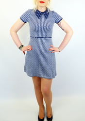 Nellie DAINTY JUNE Retro Vintage 60s Dress (N)