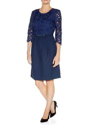 Fleur DARLING Retro 60s Lace Cutaway Dress (N)