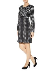 Meya DARLING Retro 60s Mod Op Art Pleated Dress