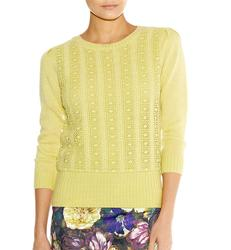 Nicole DARLING Women's Retro Lace Front Jumper