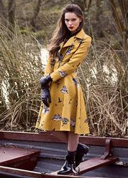 Ophelia DARLING Retro Matching Jacket & Skirt