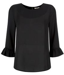 Phyllis DARLING Retro 60s Ruffle Sleeve Top (B)