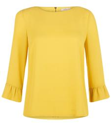 Phyllis DARLING Retro 60s Ruffle Sleeve Top (M)