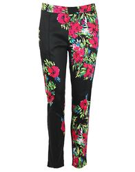Raquel DARLING Retro 1950s Vintage Floral Trousers