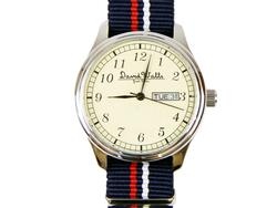 Duke DAVID WATTS Retro Mod Stripe Quartz Watch NRW