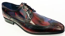 Dekker DELICIOUS JUNCTION Retro Mod Bordo Brogues