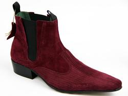 Freakbeat DJ Cord Suede Mod Chelsea Boots (EP)