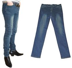 'Draytone Denim Drainpipes' Retro Skinny Jeans