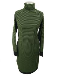 'Magpie' - Merino Wool Dress by JOHN SMEDLEY (G)