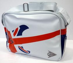 Britpop DUNLOP Indie Union Jack Retro Shoulder Bag