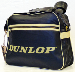 DUNLOP Retro Mod Soft Cracked PU Shoulder Bag (N)
