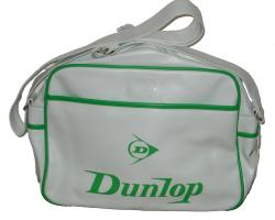 'Flash' - Indie Dunlop Shoulder Bag (White)
