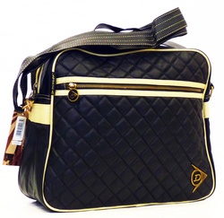 DUNLOP Diamond Quilt Retro Mod Shoulder Bag (B)
