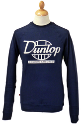 London Tailored DUNLOP RETRO 70s Indie Sweatshirt