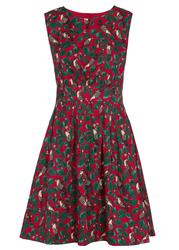 Lucy Winter Bird EMILY AND FIN Retro A-Line Dress