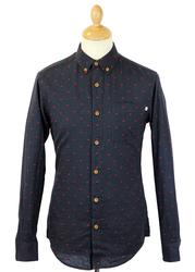 Bewley FARAH 1920 Retro Mod Diamond Dobby Shirt