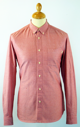 The Connolly FARAH 1920 Retro Mod Oxford Shirt RC