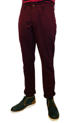 The Albany FARAH VINTAGE Retro Mod Chino Trousers