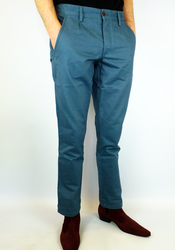Albany FARAH VINTAGE Retro Mod Chino Trousers (GB)
