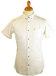 The Beatty FARAH VINTAGE Retro Mod Fleck Shirt (E)
