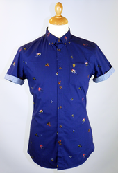 Drifter FARAH VINTAGE Retro Fly Fishing Shirt (DI)