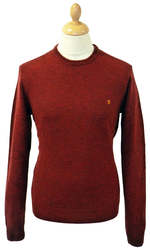Rosecroft FARAH VINTAGE Retro Mod Wool Jumper (RC)